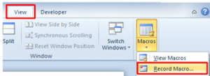 120 300x109 How to record macros in Microsoft Word 2010