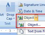 How to insert video in word 2010 document