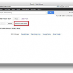 How to Delete Google Search Web History