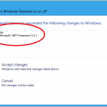 How to install missing .Net framework 3.5 in Windows 8