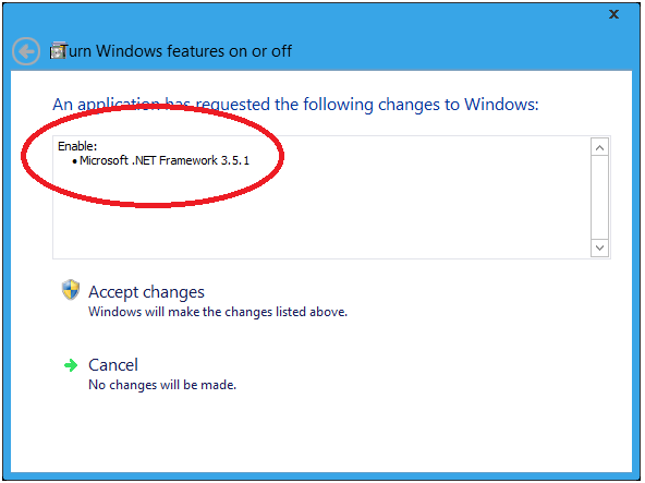 126 How to install missing .Net framework 3.5 in Windows 8