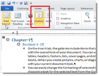 1611 How to Create a Master Document in Microsoft Word 2010