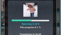 wirelessly sending videos