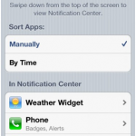 How to Arrange the Order of Alerts in Notification Center