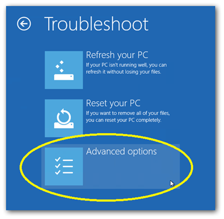 410 How to use and boot into safe mode on windows 8 for troubleshooting