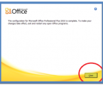 Changing the office 2010 product key
