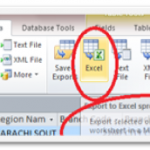 How to Share MS Access Data with MS Excel 2010