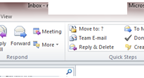 Enabliing Auto email forwarding in outlook 2010