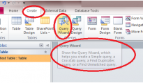 Finding duplicate entries in access 2010 with the help of query