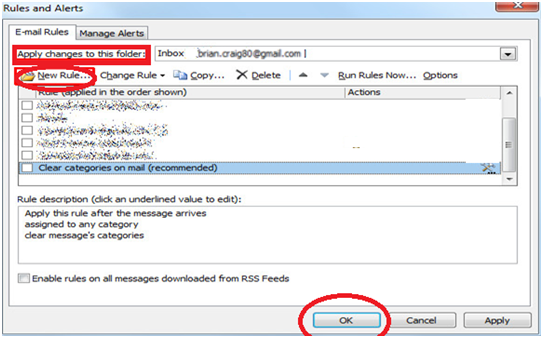 243 How to Enable Auto Email Forward Messages Rule in Outlook 2010