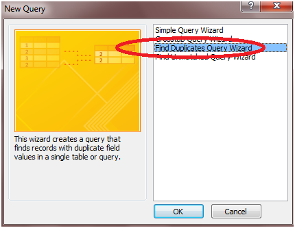 244 How to Create a Query in Microsoft Access 2010 to Find Duplicate Entries in a Table