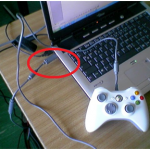 How to connect Xbox 360 Wired Controller to a Laptop