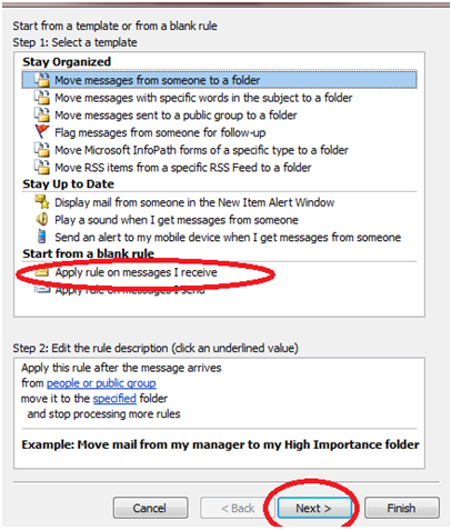 341 How to Enable Auto Email Forward Messages Rule in Outlook 2010