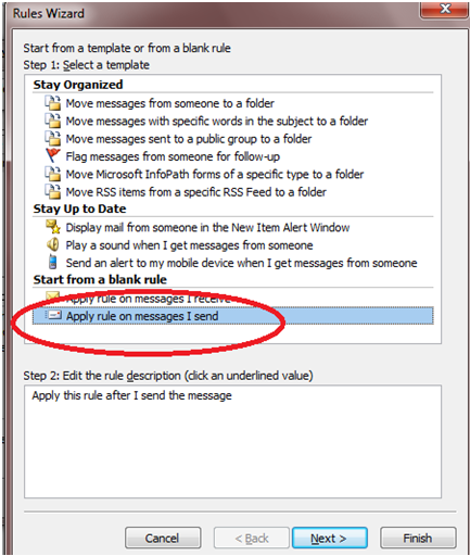 345 How to Apply Rules on Text Messages (SMS) in Outlook 2010