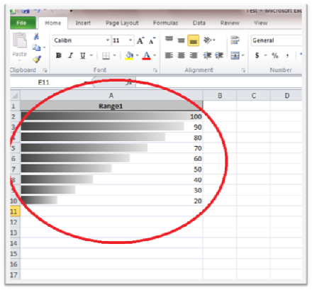 417 How to Create Progress Bar with Conditional Formatting in Excel 2010