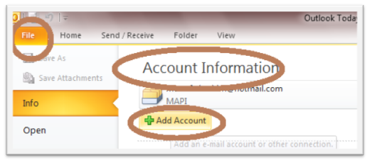 428 How to Add Gmail Account to Outlook 2010 Using POP