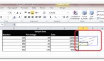Sparklines in Excel 2010