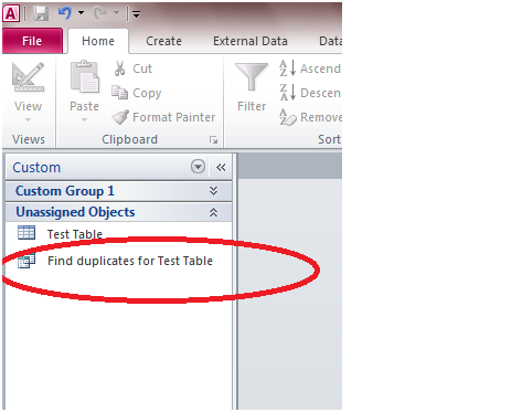 623 How to Create a Query in Microsoft Access 2010 to Find Duplicate Entries in a Table